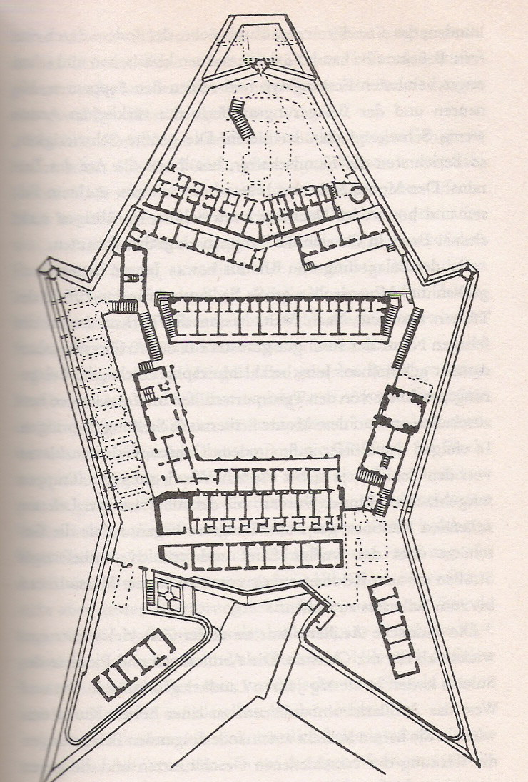 Plan of Fort Saint Elmo
