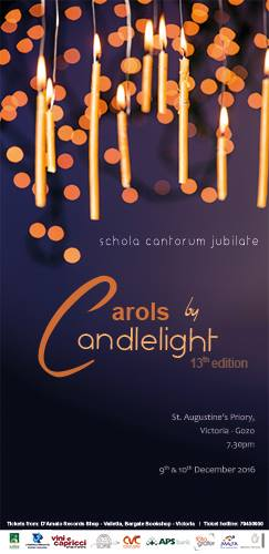 Poster for Carols by Candlelight 13th Edition